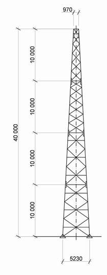 Башни и опоры связи  electropriborru